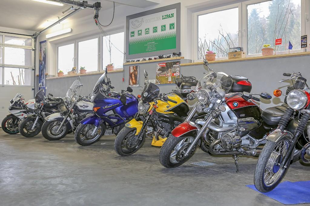 Gostilna LIPAN Garaže za motorje