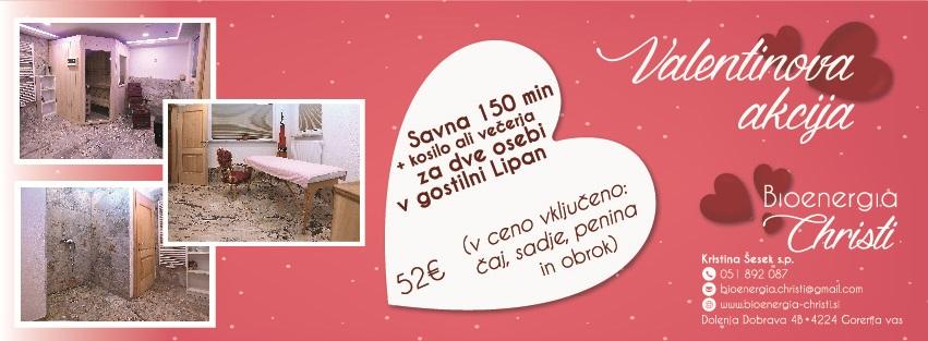 Gostilna LIPAN - Valentinova akcija